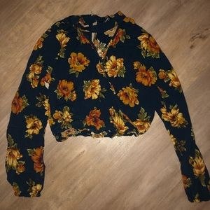 Women's Cropped Blouse
